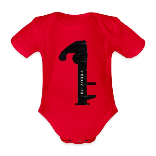 bi zooka - Kortærmet babybody, økologisk bomuld