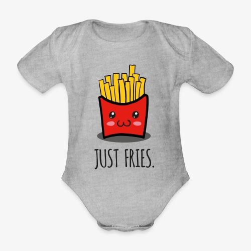 Just fries - Pommes - Pommes frites - Baby Bio-Kurzarm-Body