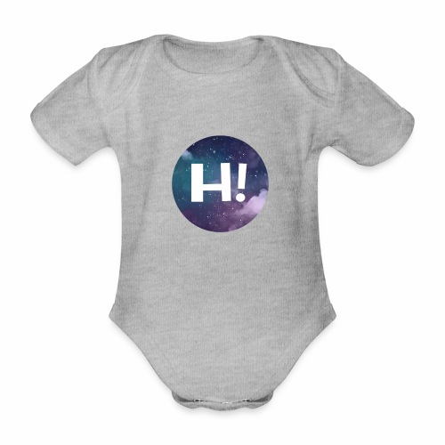 H! - Organic Short-sleeved Baby Bodysuit