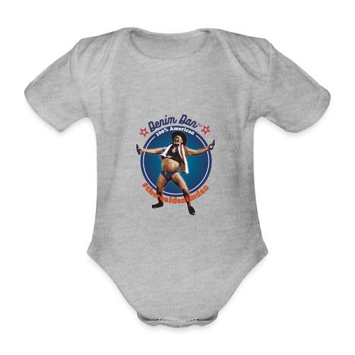 Denim Dan - Ekologisk kortärmad babybody