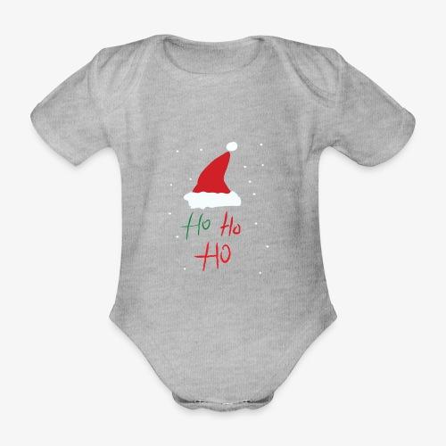 hohoho - Organic Short-sleeved Baby Bodysuit