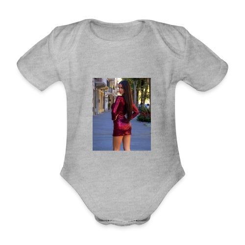 Cecilia Russo - Body ecologico per neonato a manica corta