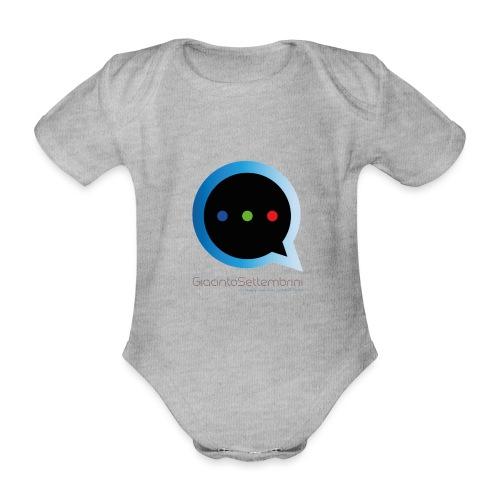 GS Model - Body ecologico per neonato a manica corta