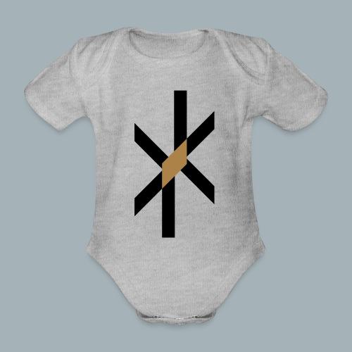 Orbit Premium T-shirt - Baby bio-rompertje met korte mouwen