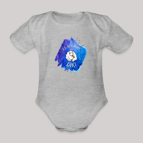 Es beginnt in Dir - Baby Bio-Kurzarm-Body