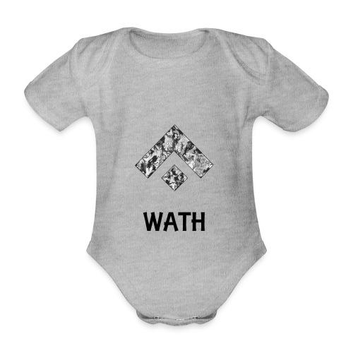 Diseño nombrado - Body orgánico de maga corta para bebé