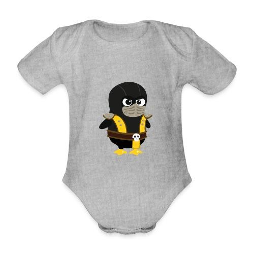 Pingouin Mortal Scorpion - Body Bébé bio manches courtes