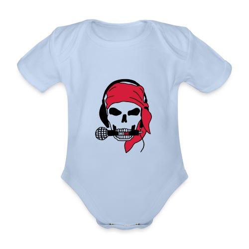 Pirate (par éoline) - Body Bébé bio manches courtes