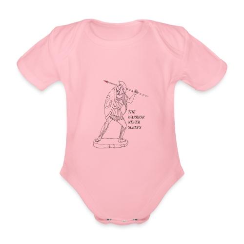 WARRIOR - Body ecologico per neonato a manica corta