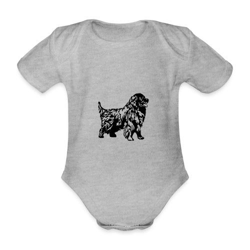 Neufundländer - Baby Bio-Kurzarm-Body
