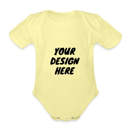 printfile front 9 - Ekologisk kortärmad babybody