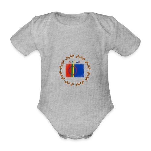 Sapmi - Økologisk kortermet baby-body