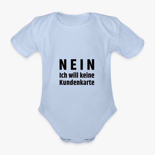 Kundenkarte - Baby Bio-Kurzarm-Body