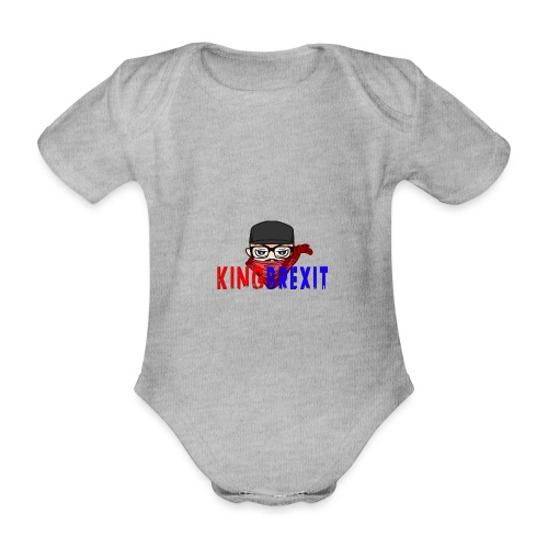 logo - Organic Short-sleeved Baby Bodysuit