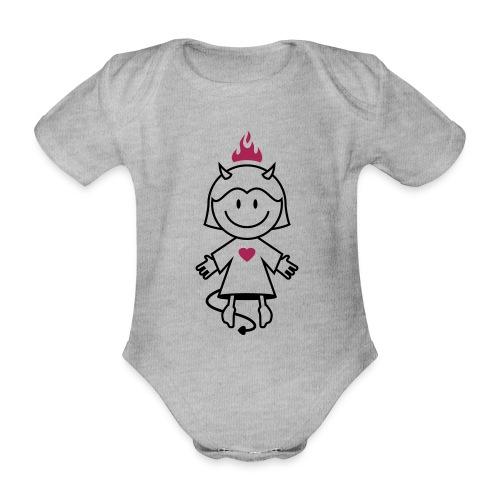 vl038b_teufelchen_2c - Baby Bio-Kurzarm-Body