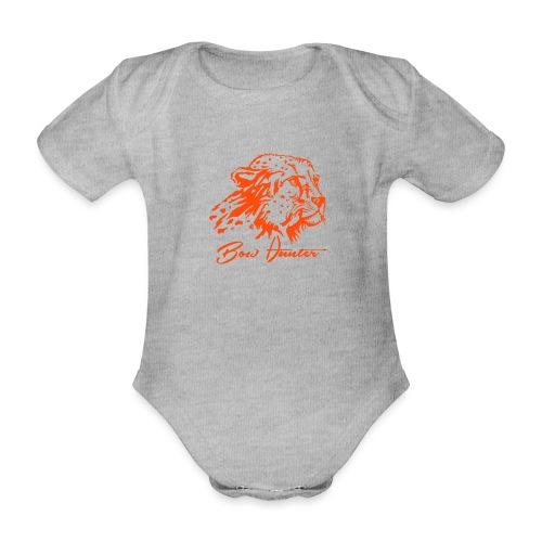 gepard bow hunter - Baby Bio-Kurzarm-Body