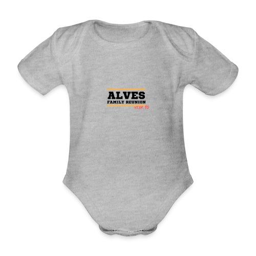 Alves - Body ecologico per neonato a manica corta