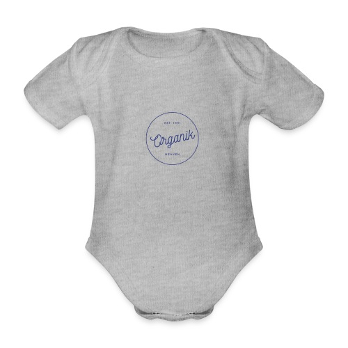 Organic - Body ecologico per neonato a manica corta