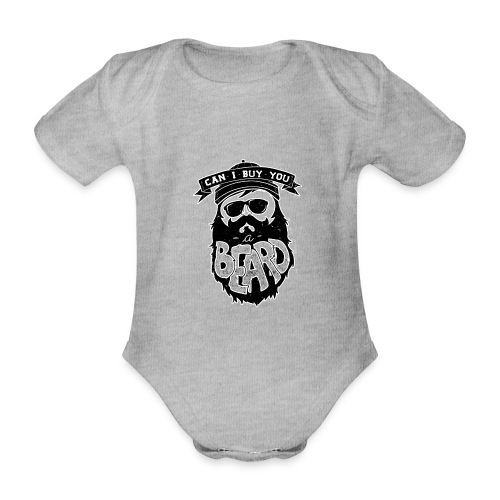 Can i buy you a bread - Organic Short-sleeved Baby Bodysuit