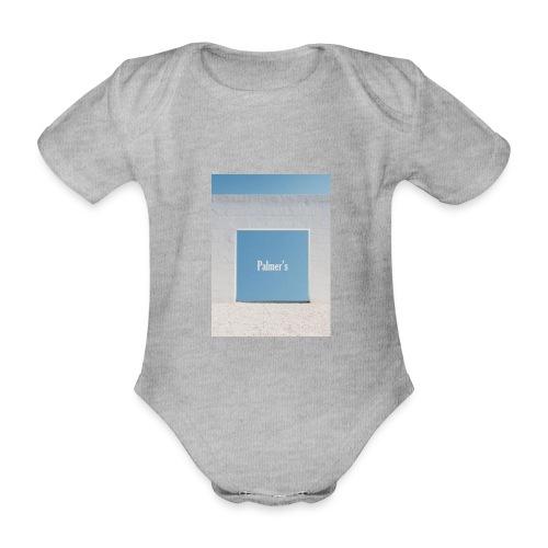 Palmer's Window - Body orgánico de maga corta para bebé