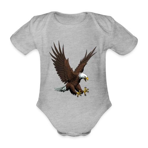 Adler sturzflug - Baby Bio-Kurzarm-Body