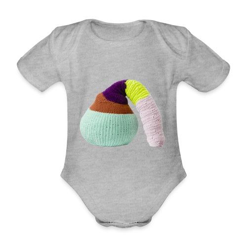 by Stine Leth - Kortærmet babybody, økologisk bomuld