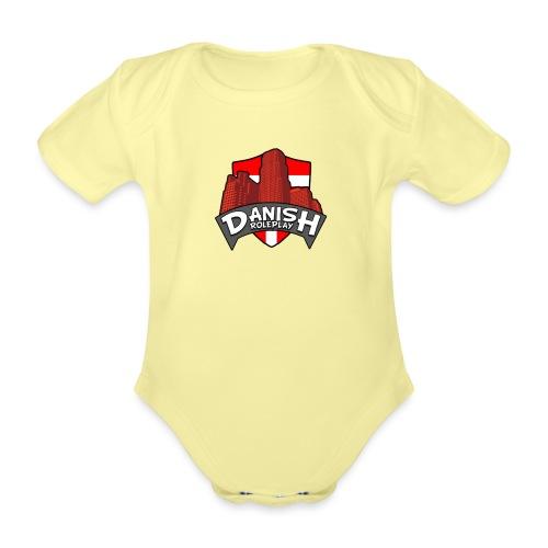 DanishRP Logo - Kortærmet babybody, økologisk bomuld