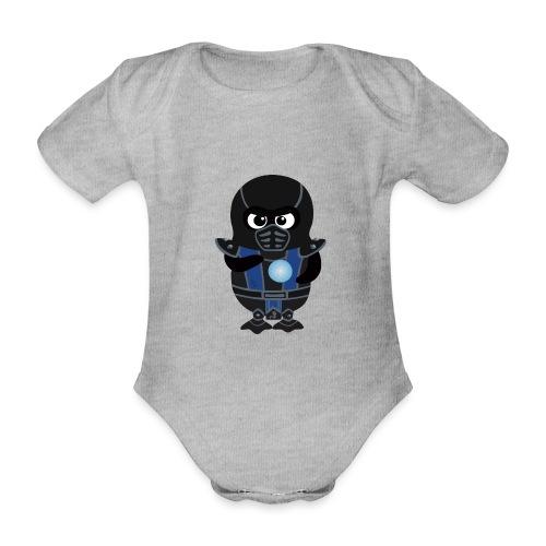 Pingouin SubZero - Body Bébé bio manches courtes