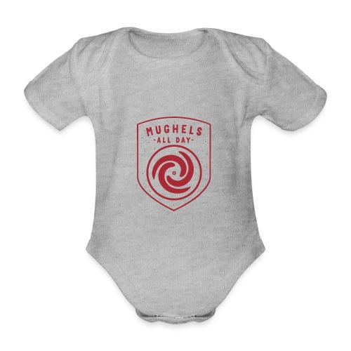 MUGHELS ALL DAY - Baby Bio-Kurzarm-Body