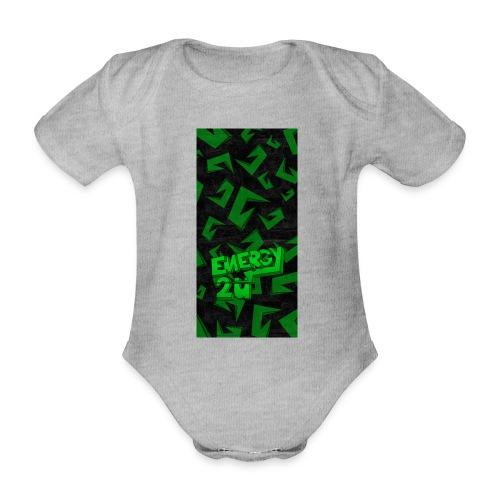 hoesje - Baby bio-rompertje met korte mouwen