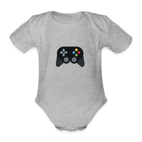Spil Til Dig Controller Kollektionen - Kortærmet babybody, økologisk bomuld
