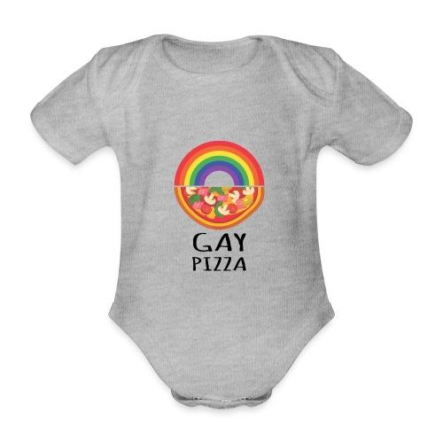 Gay Pizza | Pride | LGBTQIA - Baby Bio-Kurzarm-Body