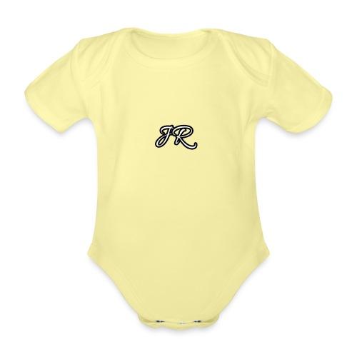 JR Logo Mens T-Shirt - Organic Short-sleeved Baby Bodysuit
