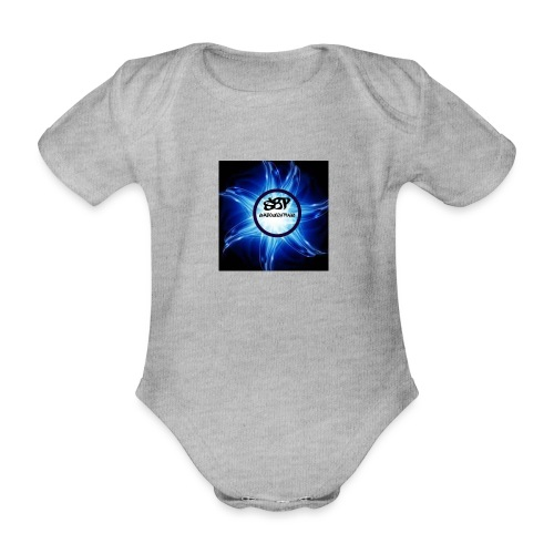 pp - Organic Short-sleeved Baby Bodysuit