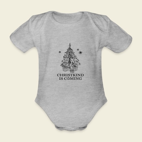 Christkind kommt - Baby Bio-Kurzarm-Body