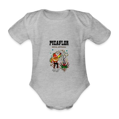 picaflormezcal - Økologisk kortermet baby-body
