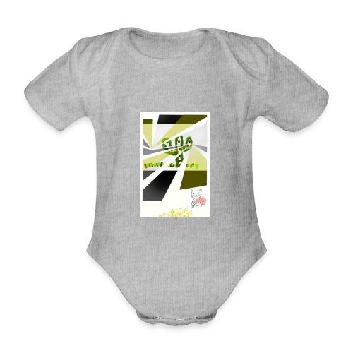 3D kaptus - Ekologisk kortärmad babybody