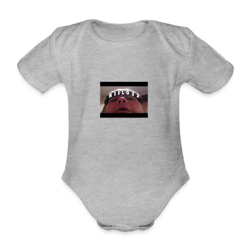 niilo22:) - Vauvan lyhythihainen luomu-body