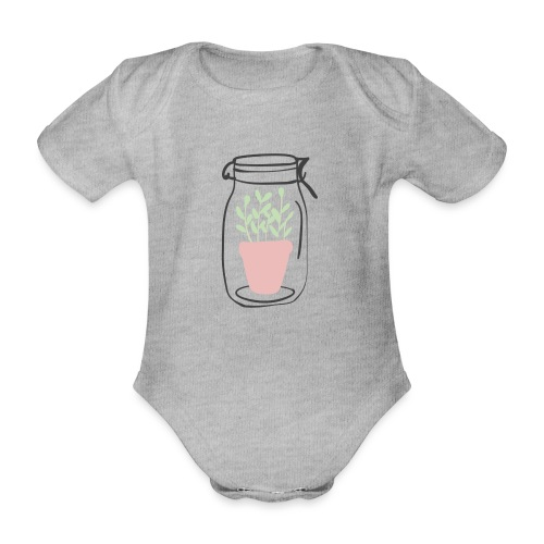 Jar of life - Ekologisk kortärmad babybody