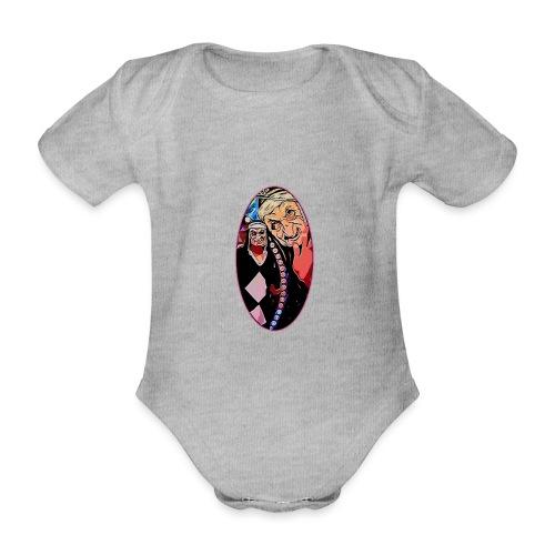 ENDO - Body orgánico de maga corta para bebé