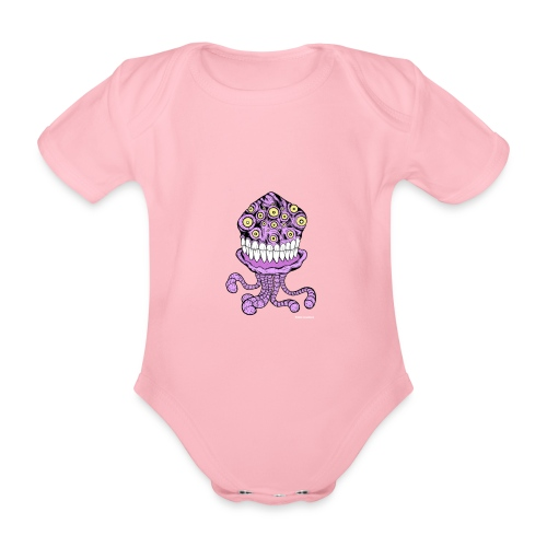 alien - Ekologisk kortärmad babybody