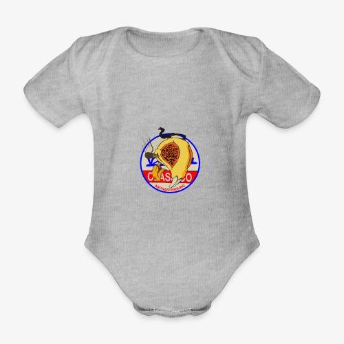 Wespenkopf Graffiti-Style - Baby Bio-Kurzarm-Body