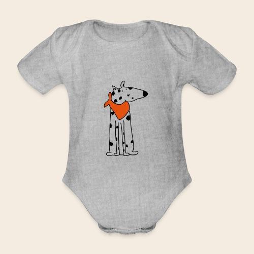 mignon dalmatien - Body Bébé bio manches courtes