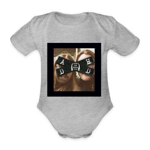 Asså Dom Hatar Dig - Ekologisk kortärmad babybody