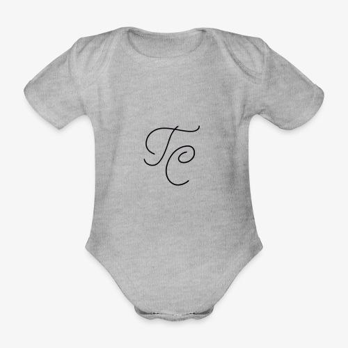 LOGO TC NERO - Body ecologico per neonato a manica corta