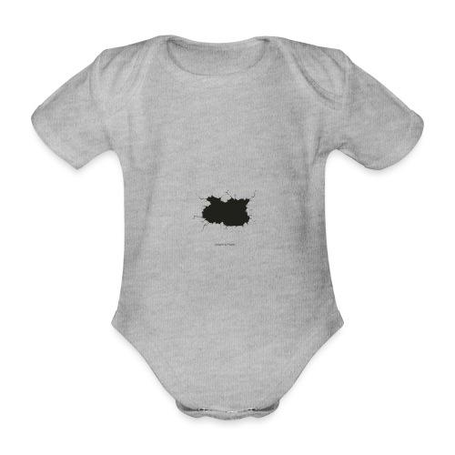 Parte rota - Body orgánico de manga corta para bebé