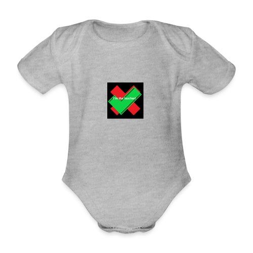 i am the real teacher - KoTi logolines - Baby bio-rompertje met korte mouwen