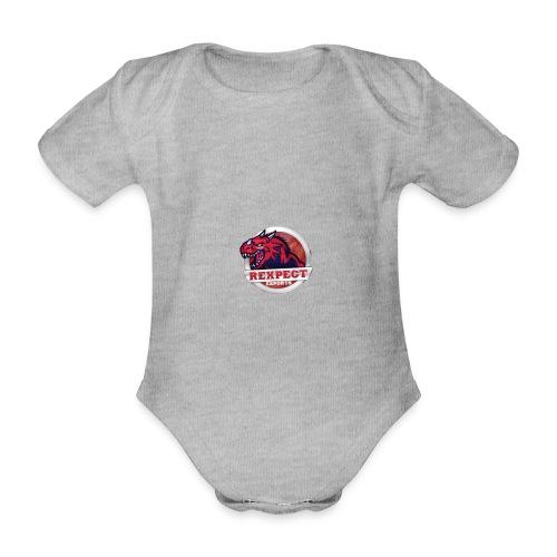 logo rexpect - Body ecologico per neonato a manica corta