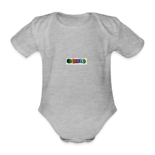 cooltext206752207876282 - Body orgánico de maga corta para bebé