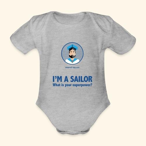 SeaProof Superpower - Baby Bio-Kurzarm-Body